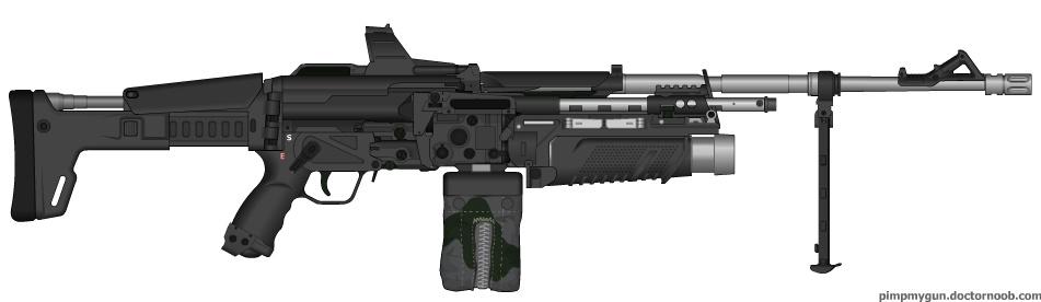heavy machine gun