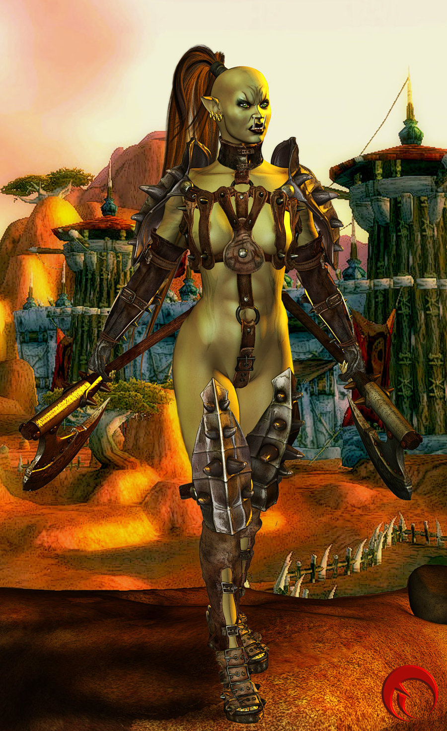 World of warcraft pic de orc femala  naked download