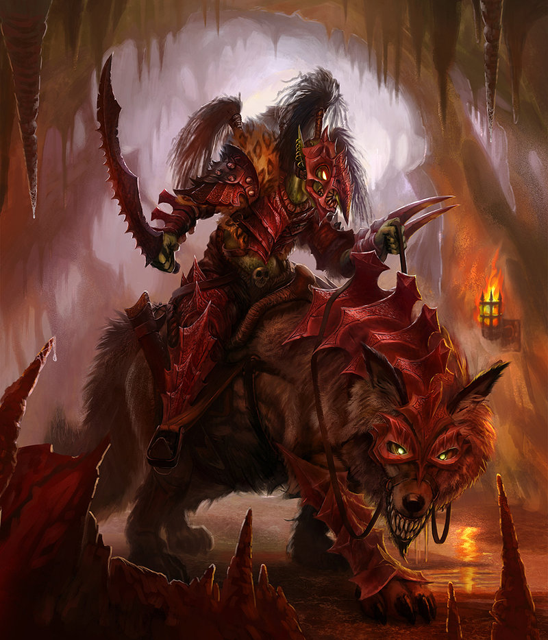 goblin wolf rider image - Orc clan and Orks fantasy and monsters fan group - Mod DB