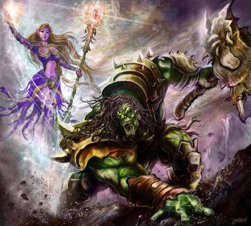 elf vs orcsd