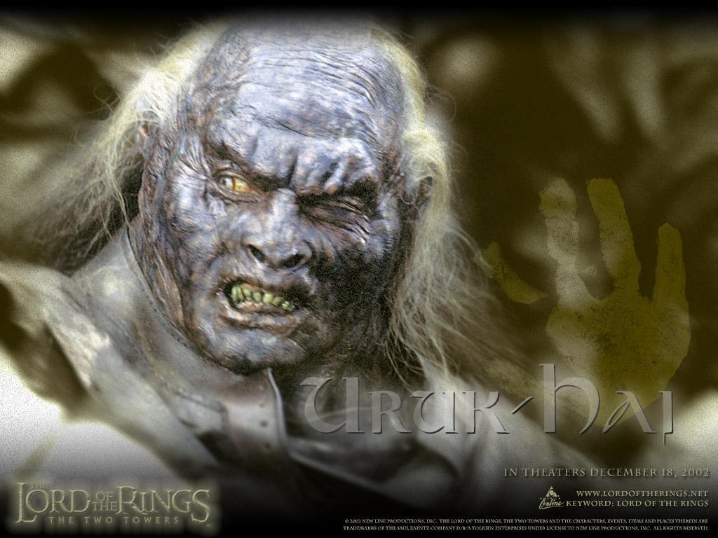 Orc Lord Of The Rings Uruk Hai original   Uruk-Hai lord