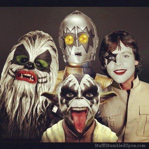 Kiss Band Faces: 501st Legion: Vader's Fist