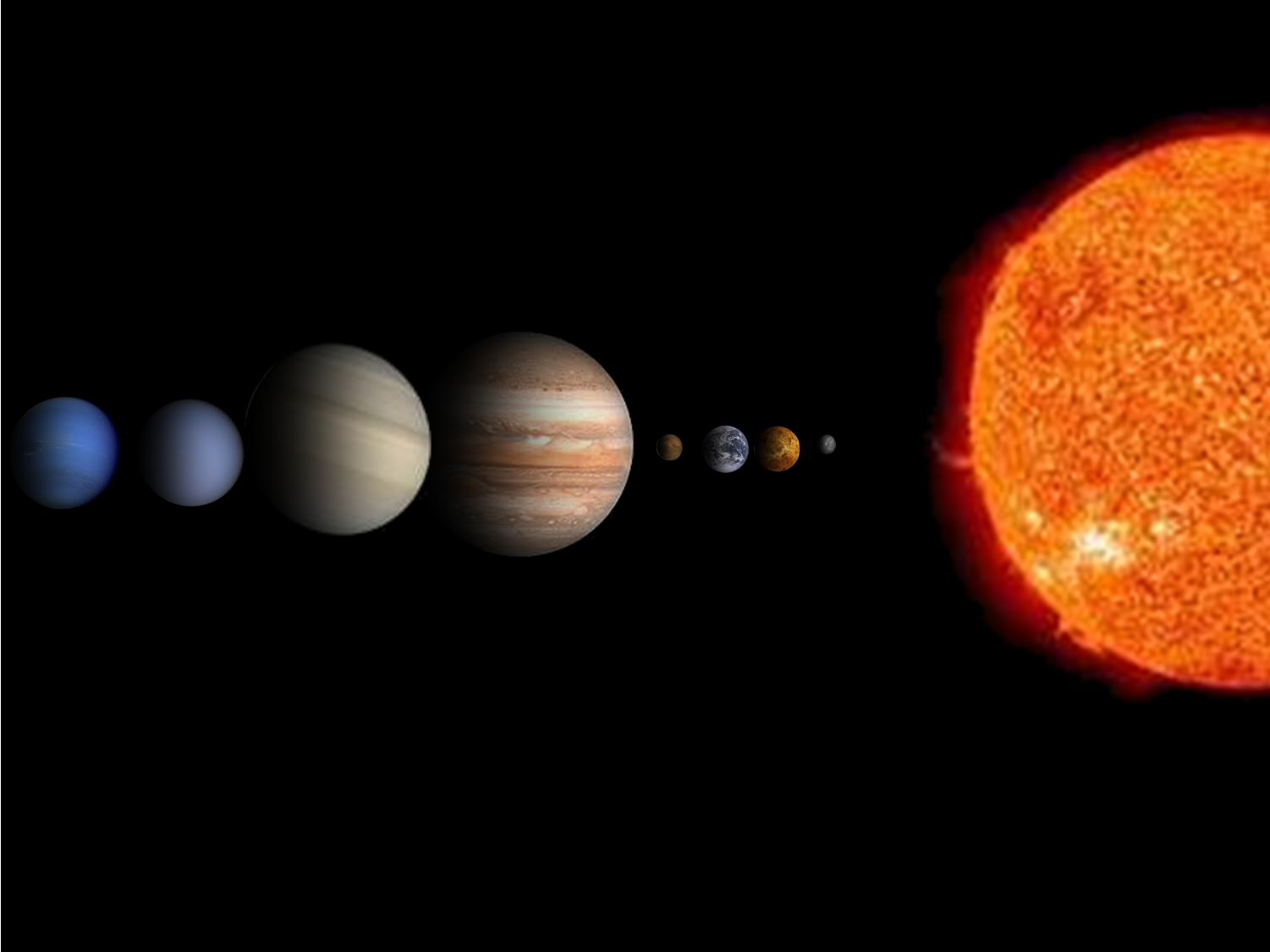 our solar system planets in order with no pluto - photo #6