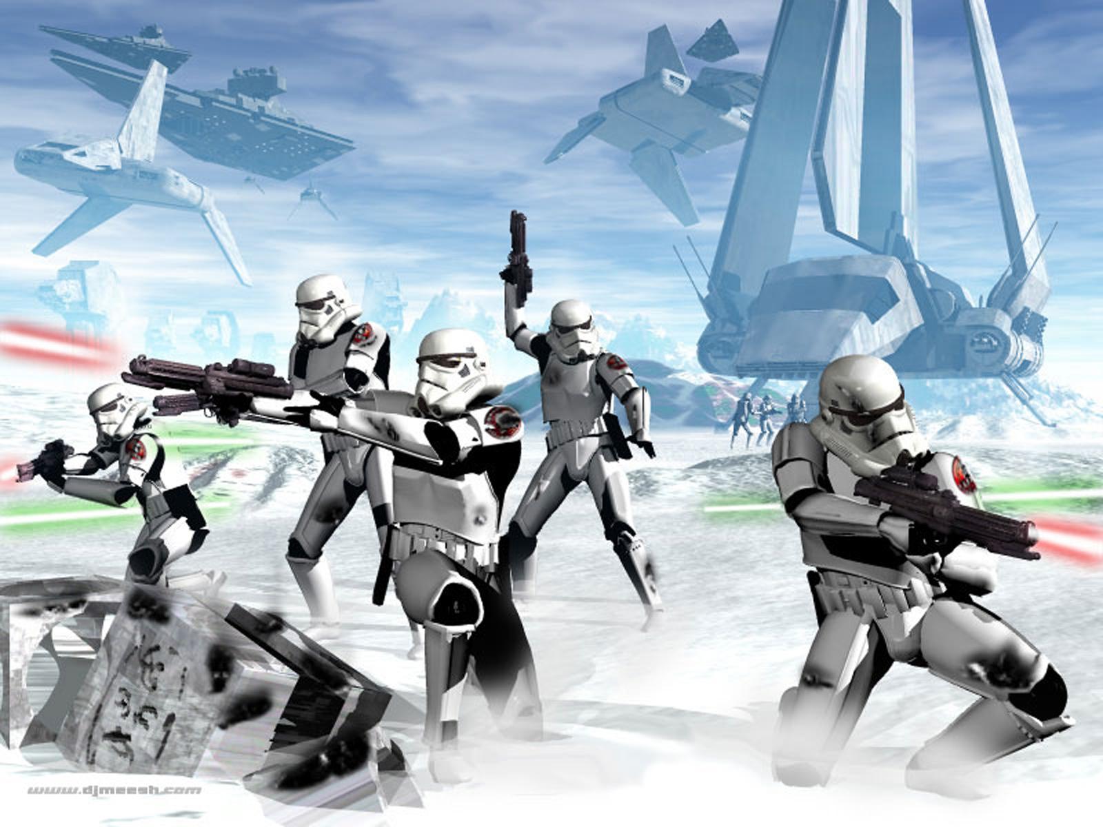 Stormtrooper Battle Artwork | www.imgkid.com - The Image ...