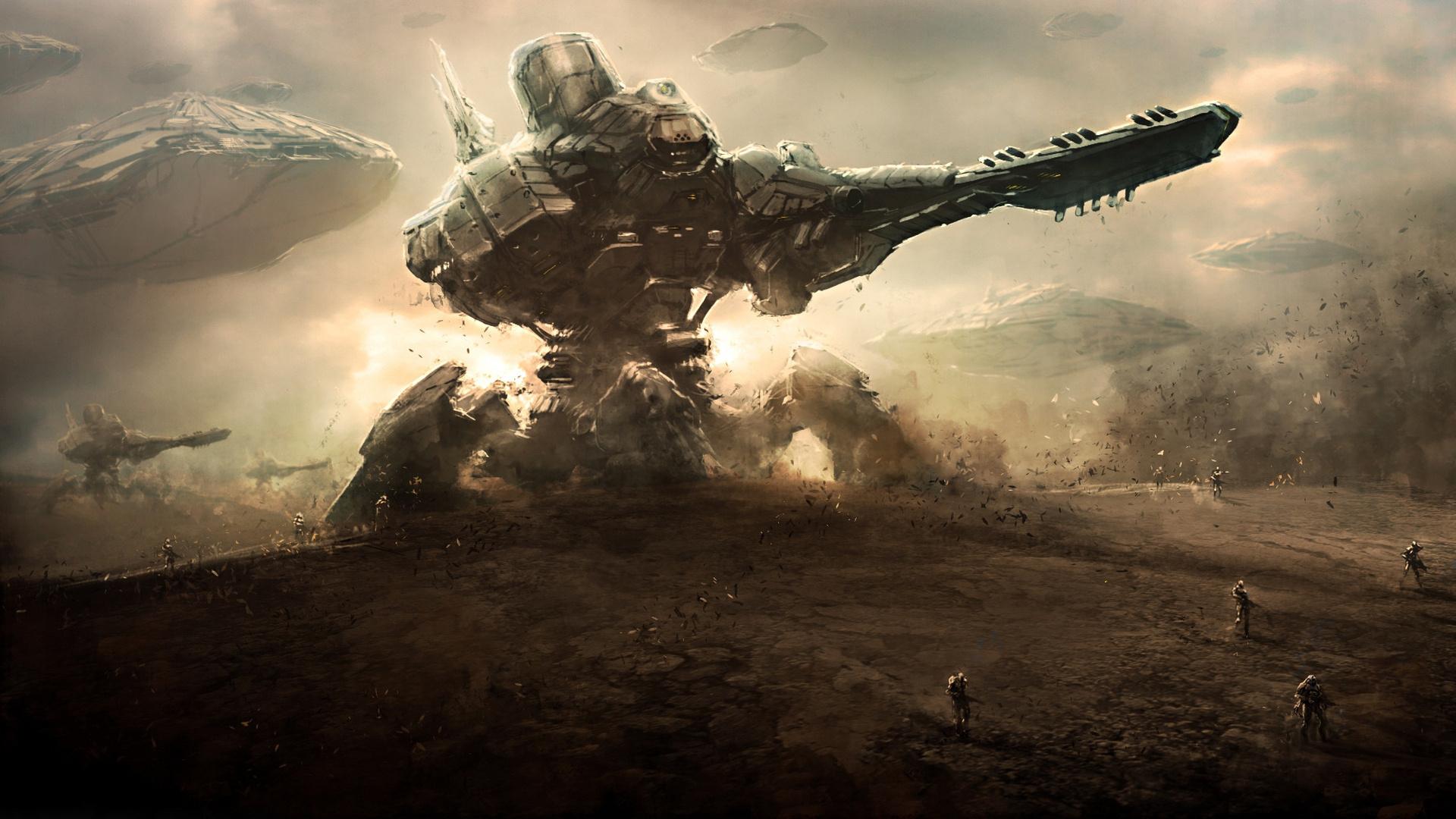 science fiction alien robots movie bigweld
