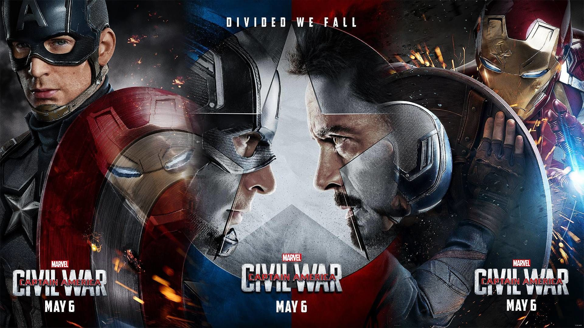 Captain America Civil War Movie 2016 Wallpaper Image Dark Force