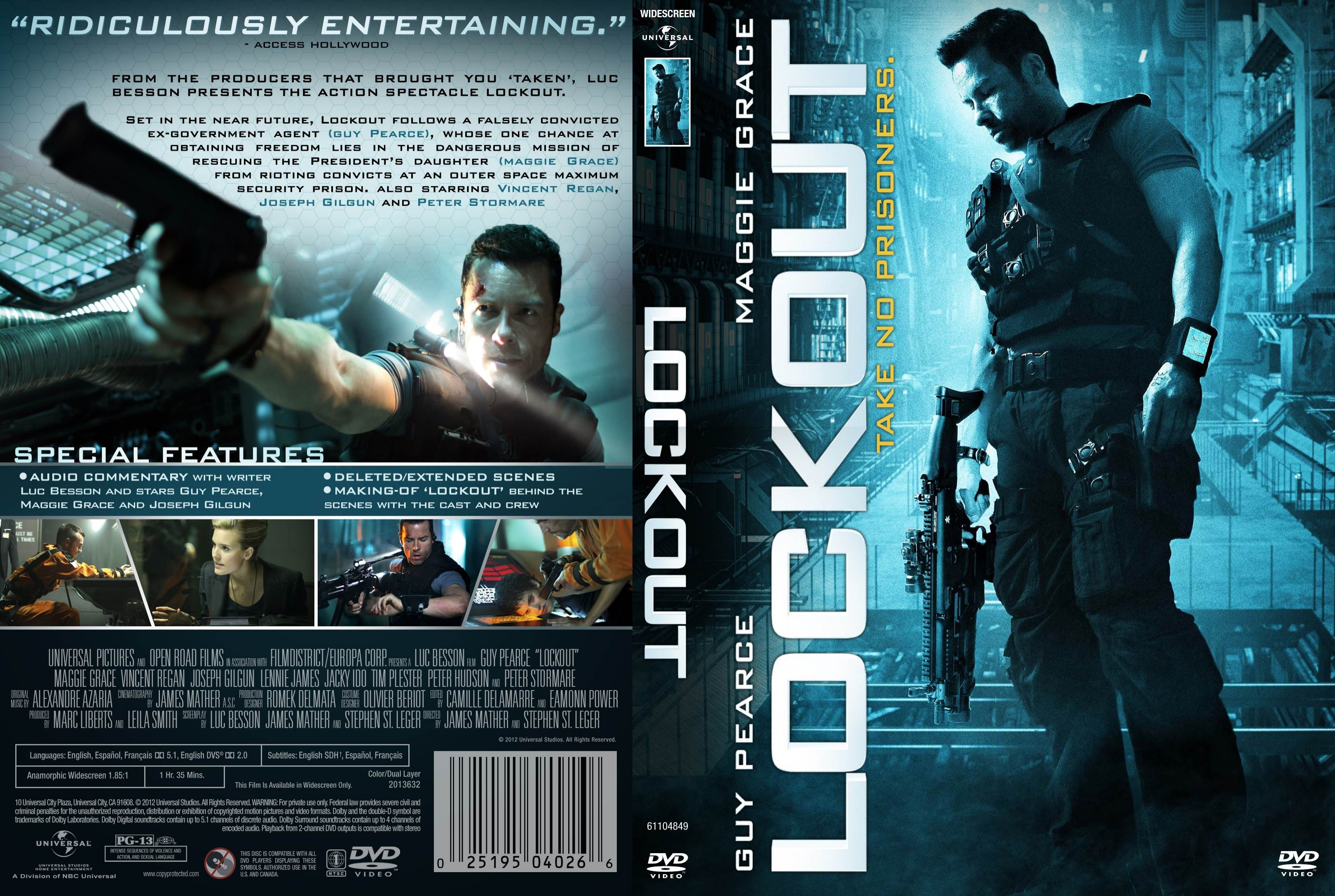 lockout movie cover image - Dark Force,Science Fiction,Fan ...