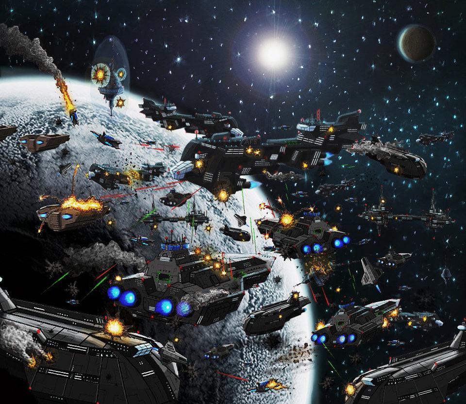 Epic Space Battles Image Dark Force Science Fiction Fan Group