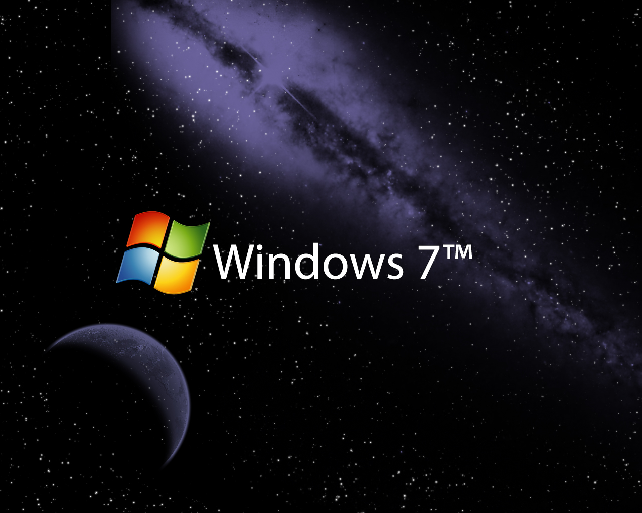 Space Wallpaper Windows 7
