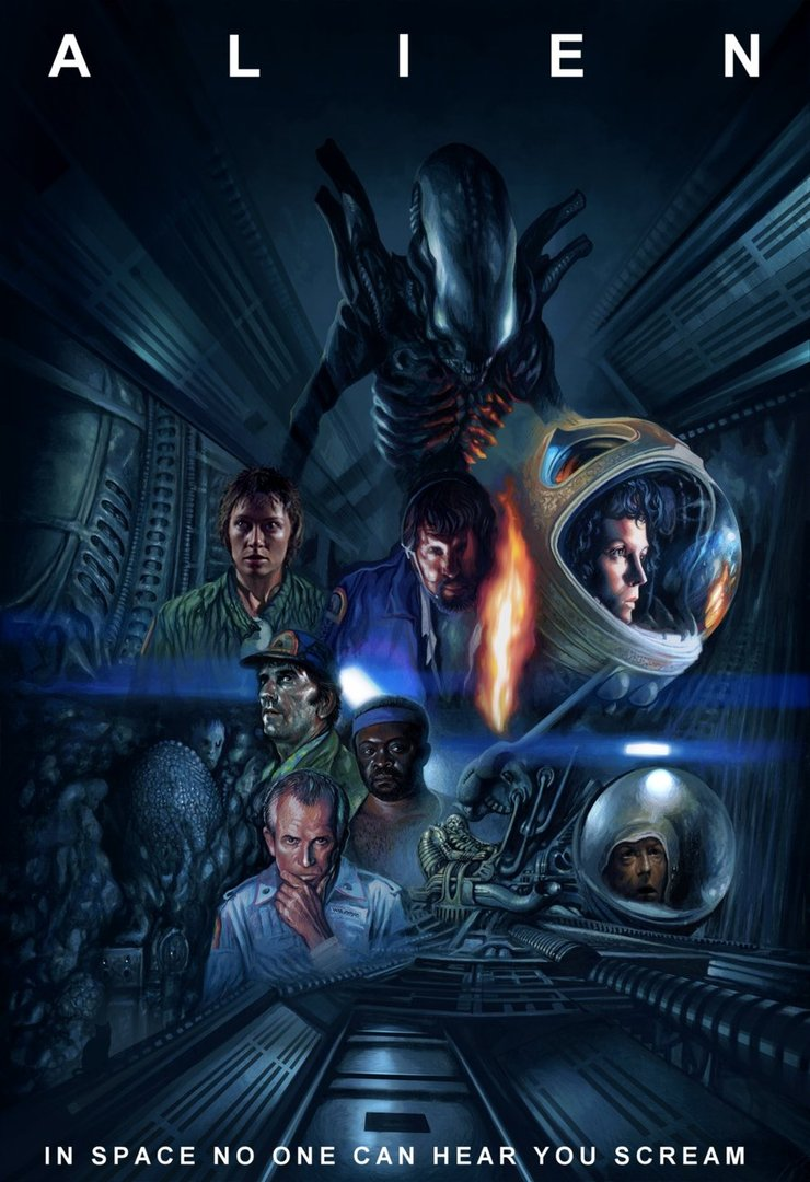 alien movie poster original-#41