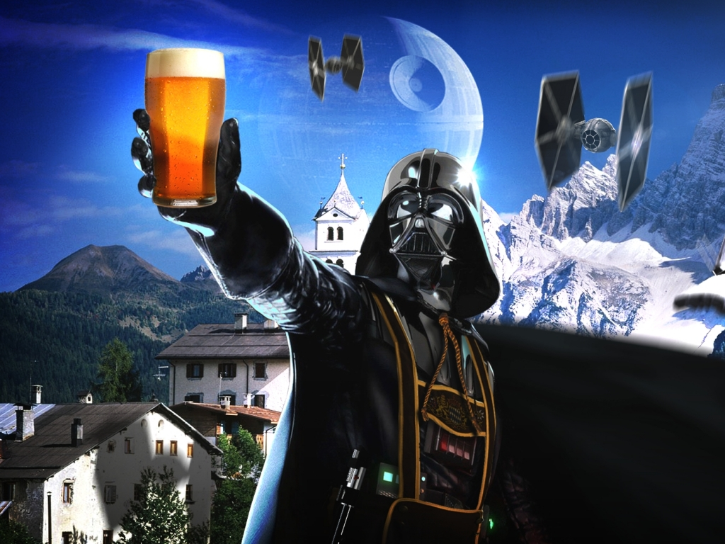 Happy New Year Greetings From Darth Vader Image Dark Forcescience