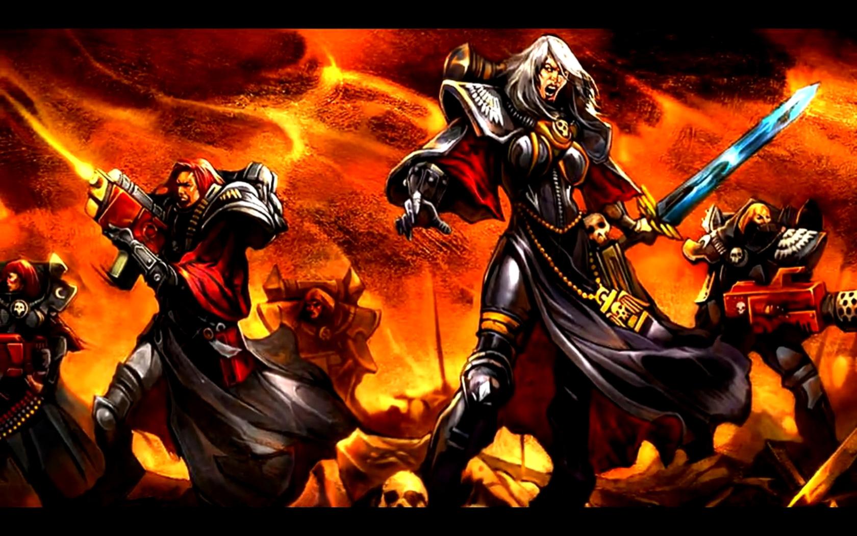 Adepta Sororitas Sisters Of Battle Image Dark Force