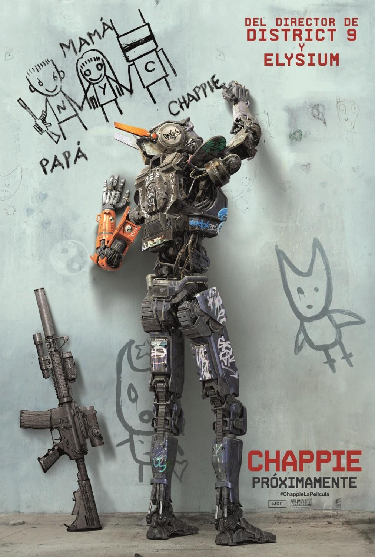 Chappie (2015) 超能查派 Chappie_poster_robot