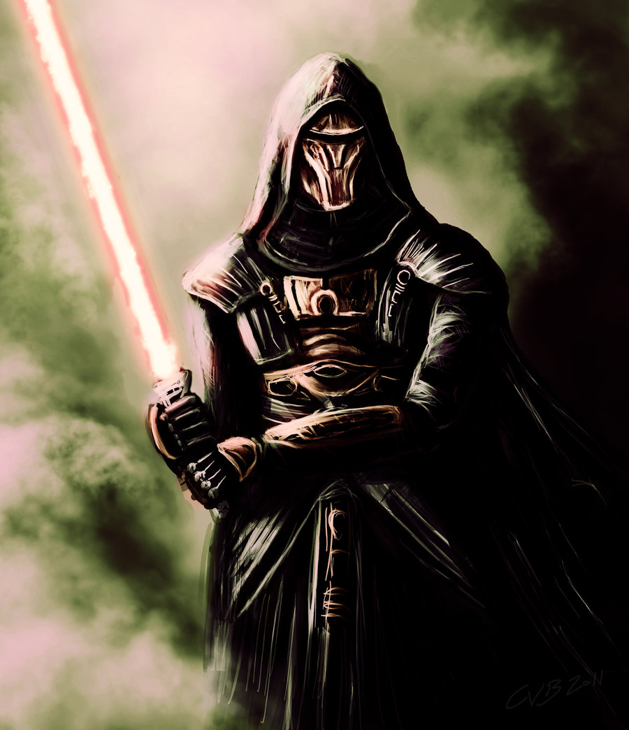 darth revan by spacek1ght