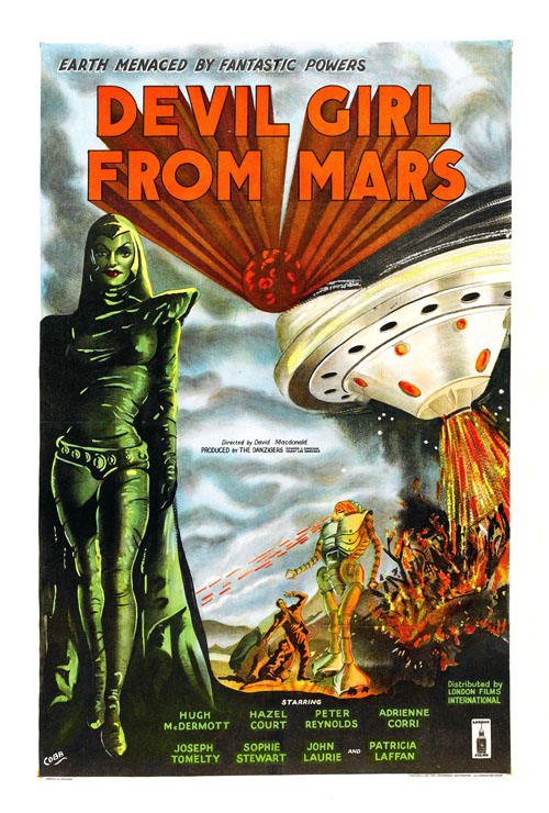 A Girl From Mars Horror Movie