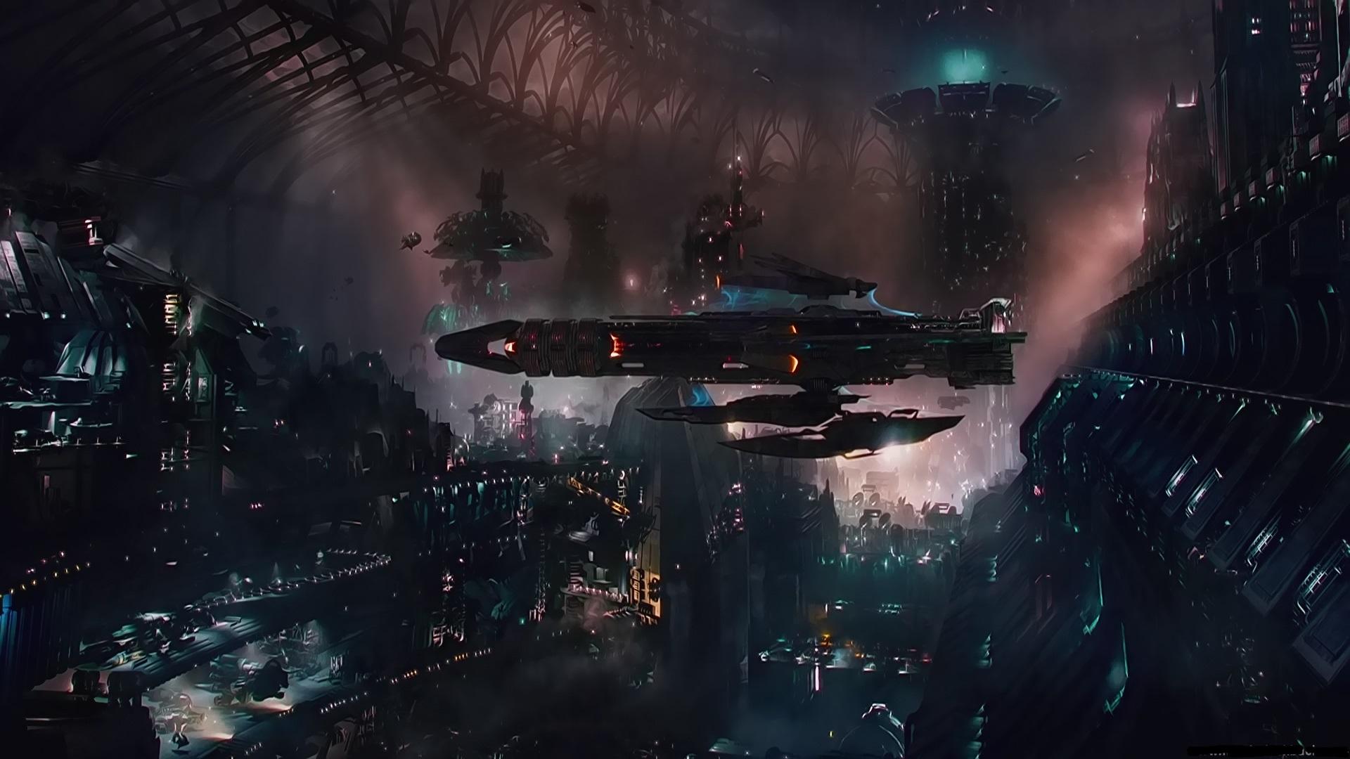 jupiter ascending movie wallpaper space city image dark