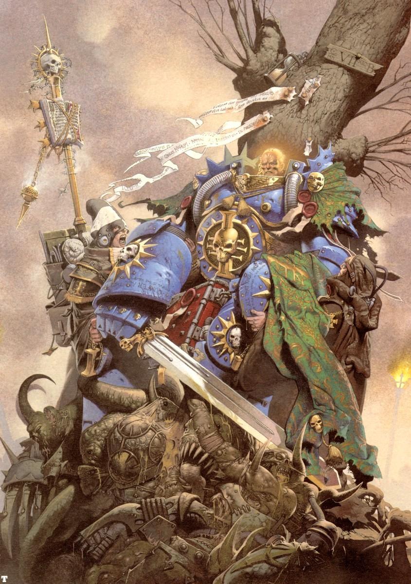 La Griffe d'Horus d'Aaron Dembski Bowden Kev_walker_inquisitor_hand