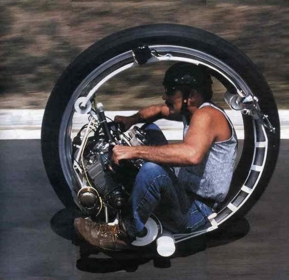 One Wheel Bike Image Dark Force Science Fiction Fan