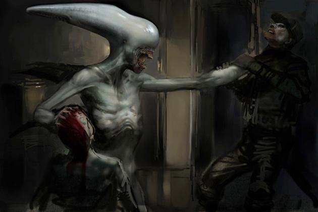 Xenomorph Prometheus prometheus movie conce...