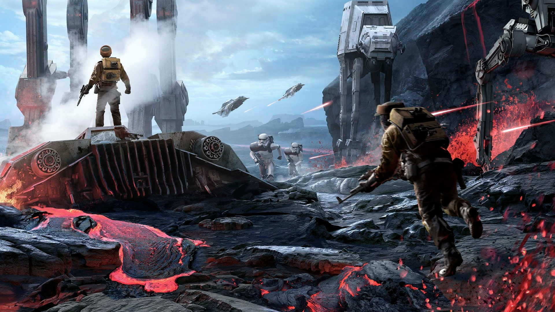 star wars - battlefront wallpaper strikes image - dark force