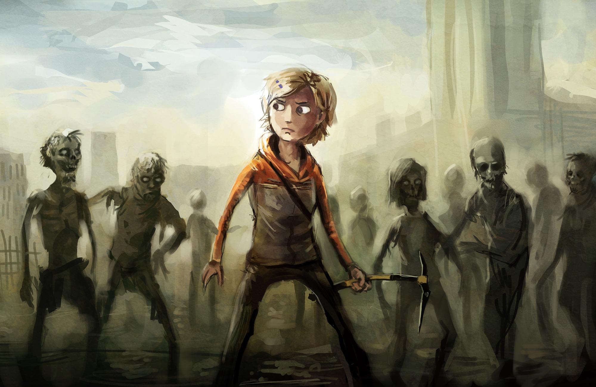 Add Media Report RSS The Walking Dead Wallpaper