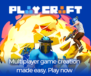 Create and share multiplayer games in Playcraft without coding