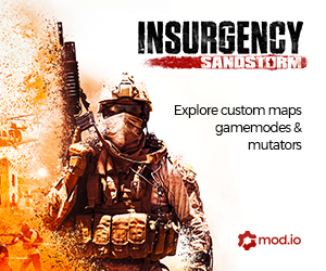 Insurgency Sandstorm - Featuring Custom Maps, Gamemodes and Mutators