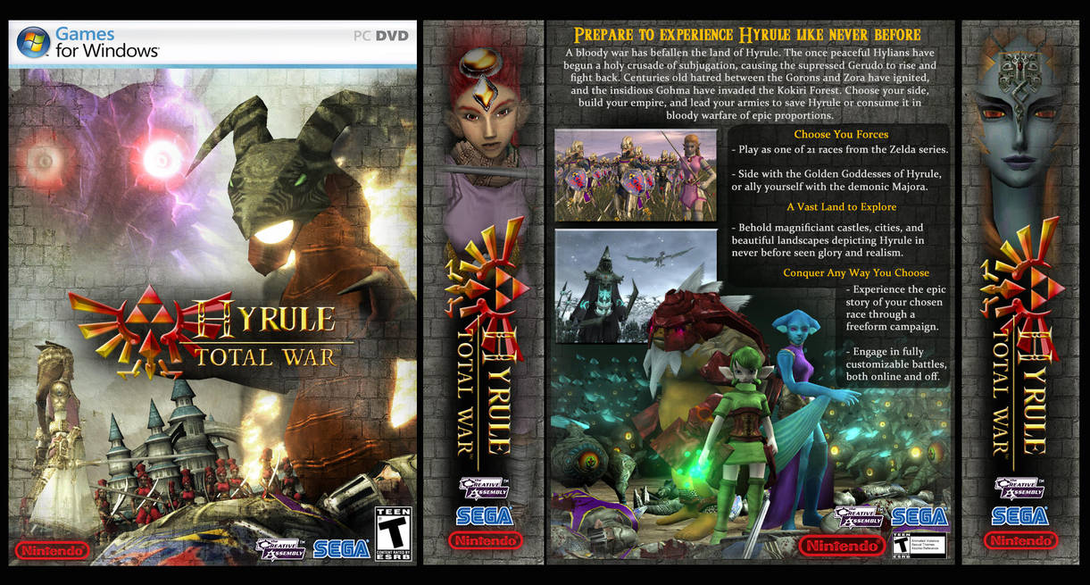 hyrule total war box art 2 0