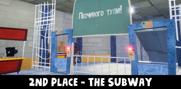 2nd Place - The Subway