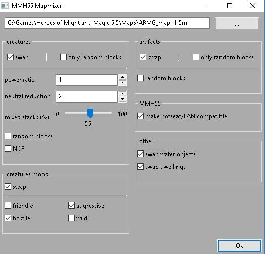 Mapmixer utility