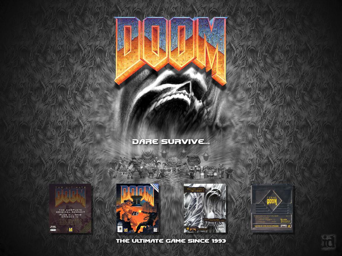 doom desktop background image - doomhunter 175