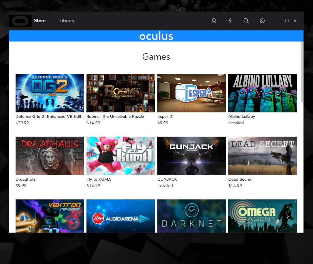 Albino Lullaby Moves Up in Oculus Store