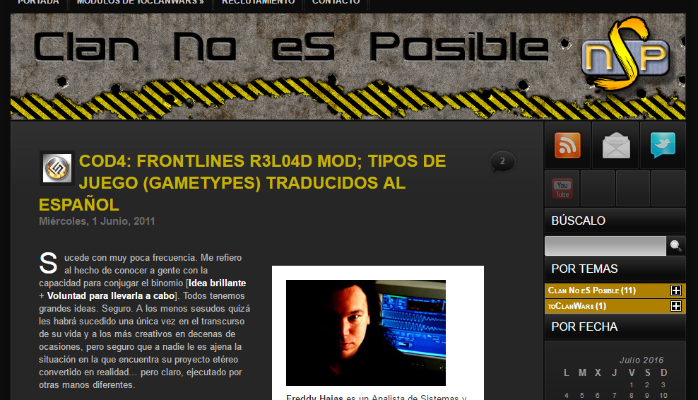 Frontlines ClanNoEsPossible Spain