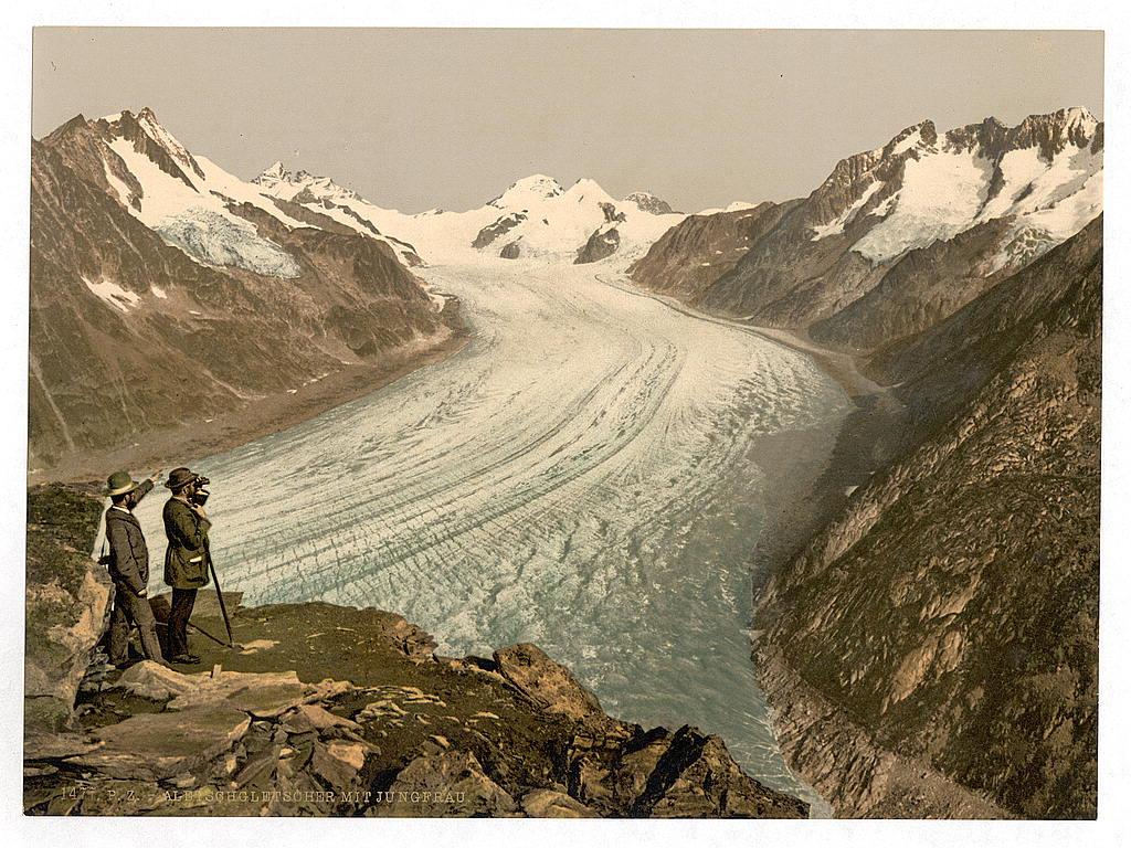 Aletschgletscher mit Jungfrau