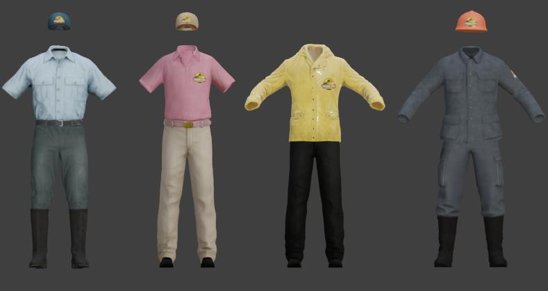 Character models by momo