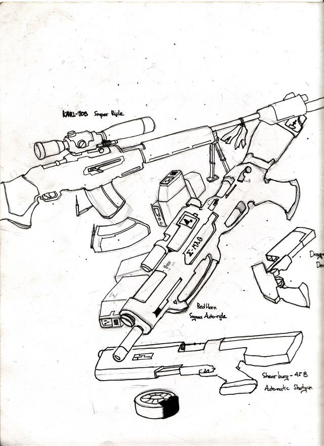 Pile O Guns Image
