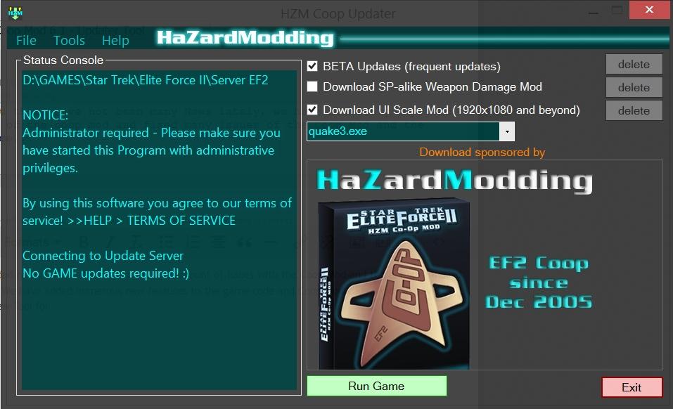 ef2 updater tool