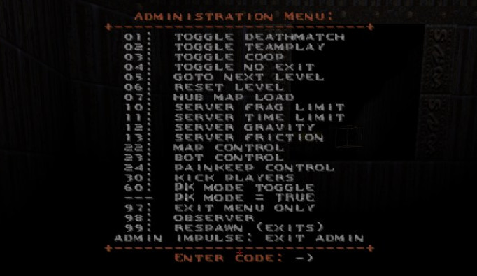pk 1.2 admin menu