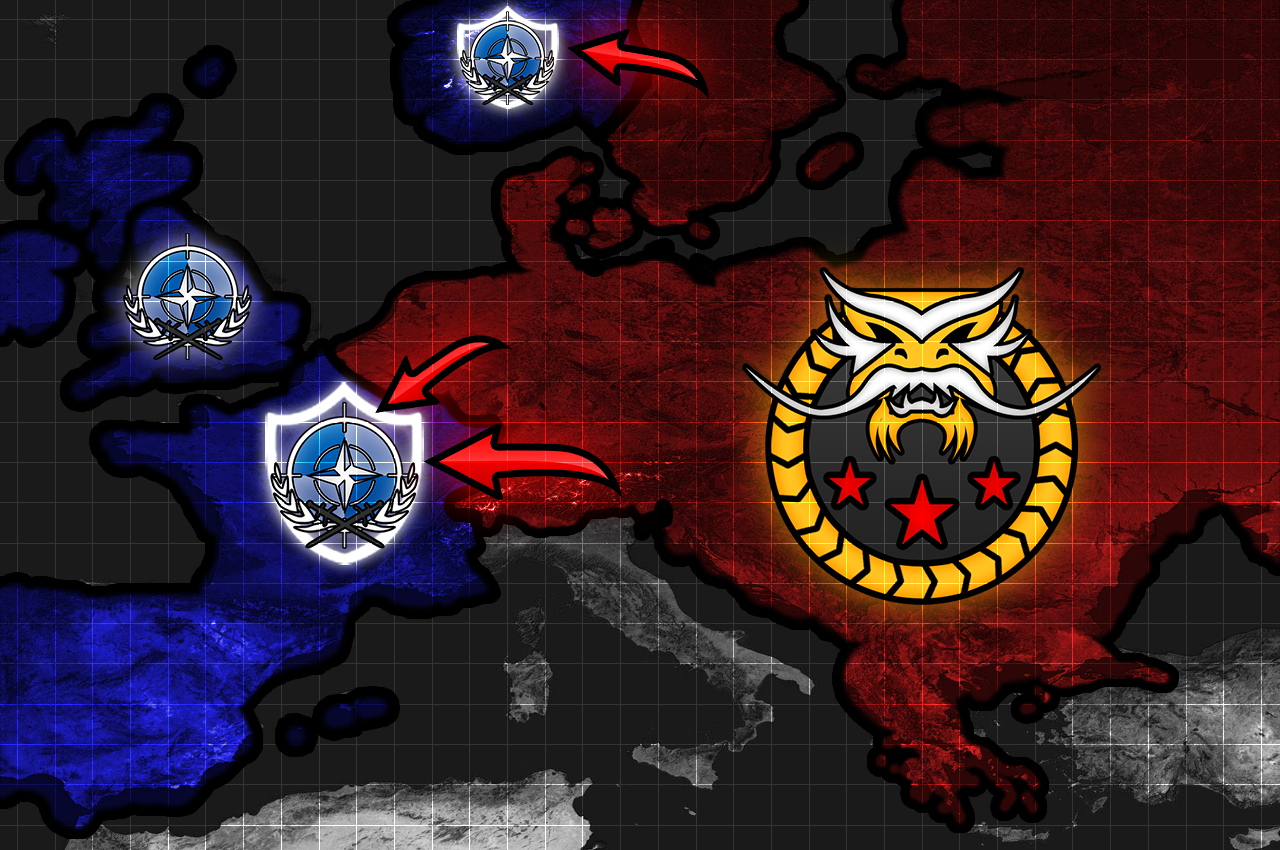 Cc generals zero hour windows game mod db a map displaying territory factions control over europe 1692018 publicscrutiny Image collections