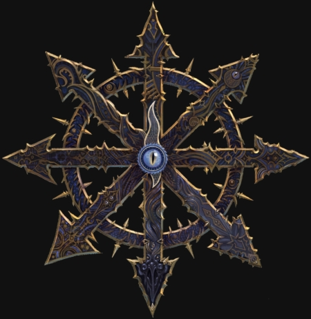the gallery for gt chaos symbol warhammer