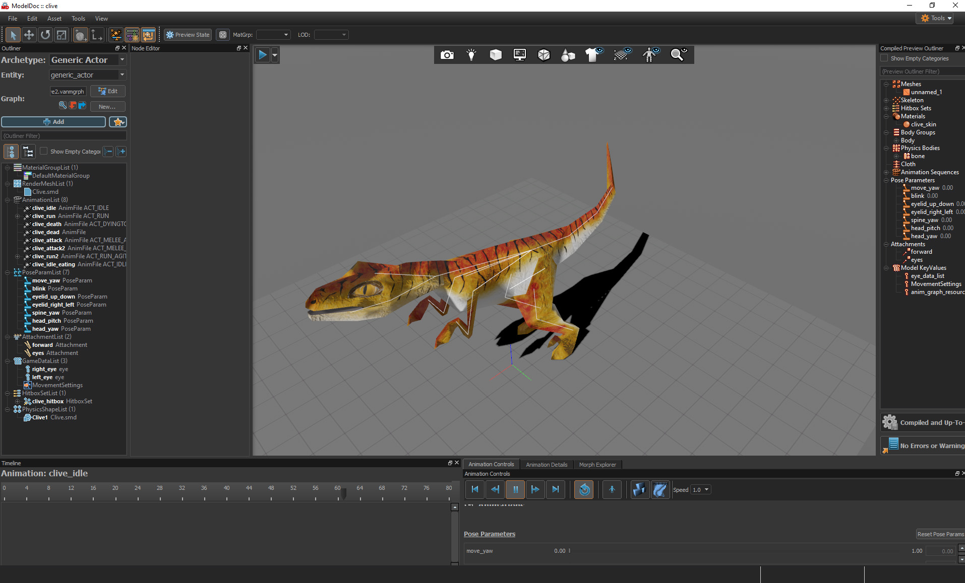 Creating the raptor in Source 2