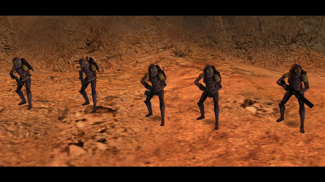 5 JetTroopers Desert