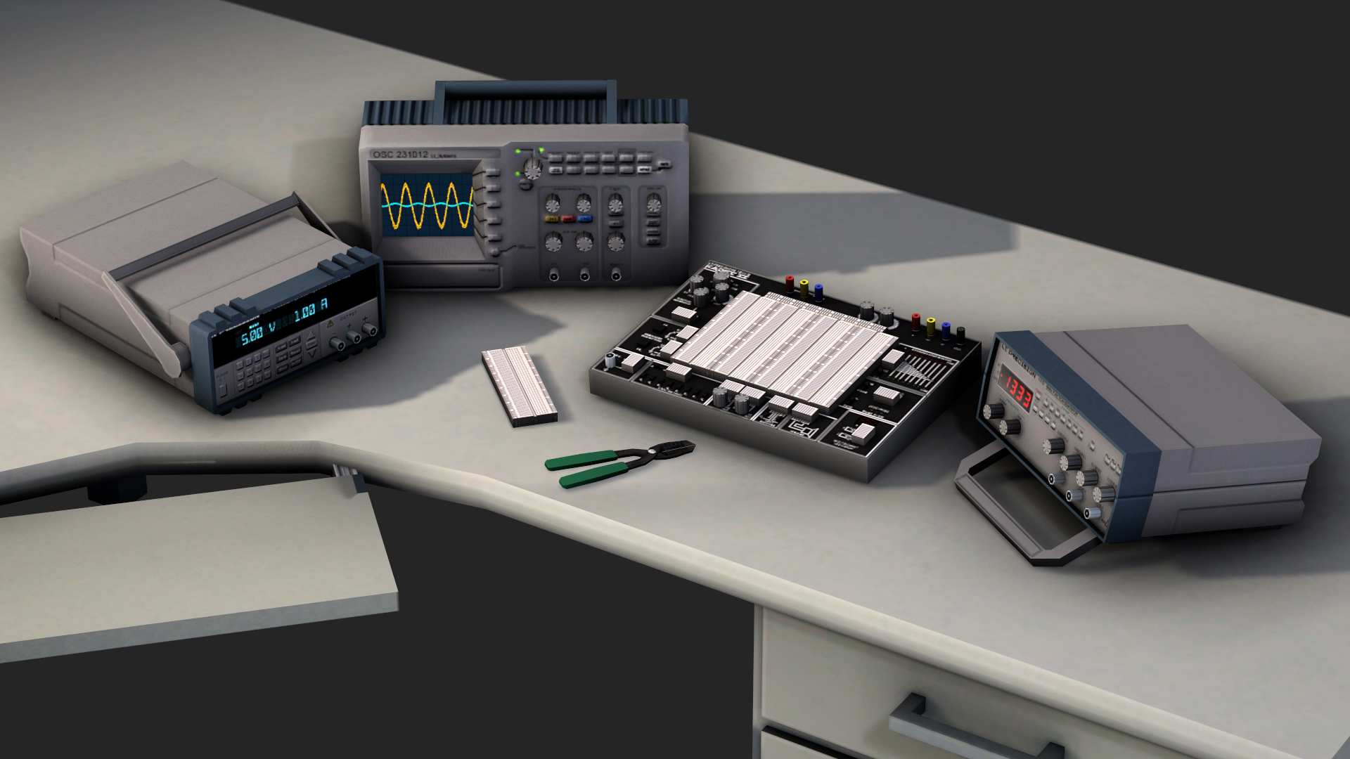 Electronic Lab Instruments : Electronics lab equipment image lt commander mod db