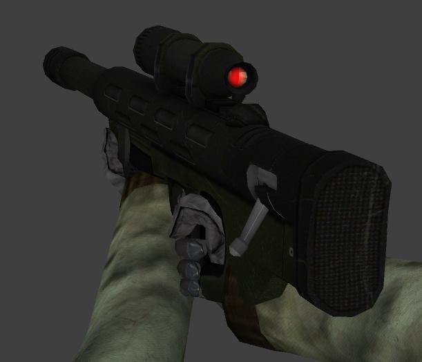 Combine Sniper Rifle Retexture V_sniper