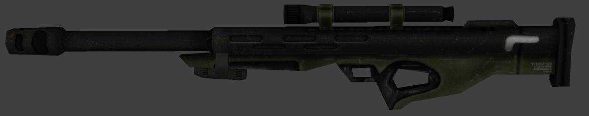 Combine Sniper Rifle Retexture W_sniper