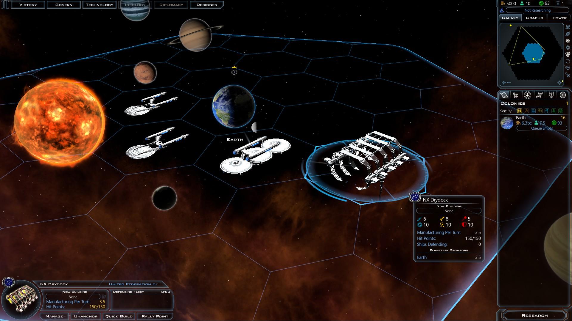 Federation Start