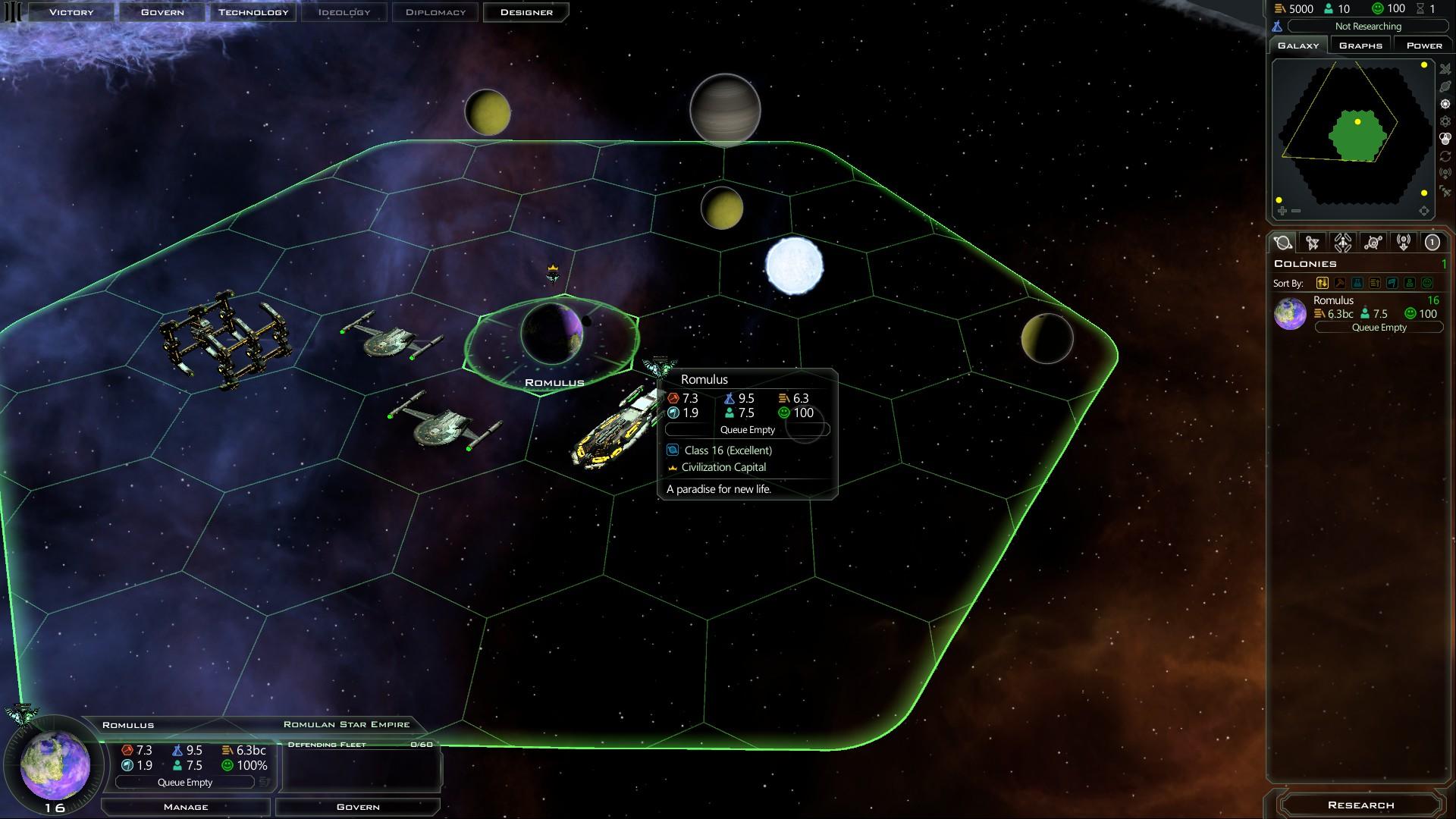 Romulan Start