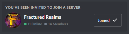 Fractured Realms Discord