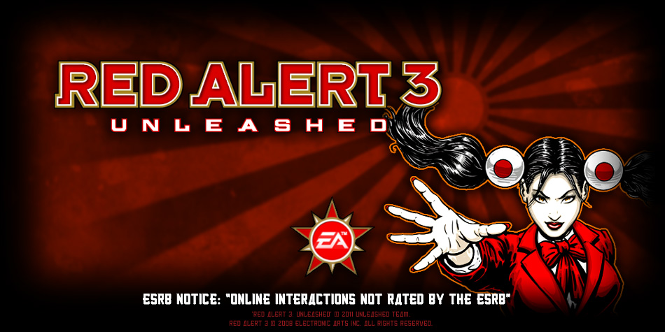 Red Alert 3: Unleashed loadscreen