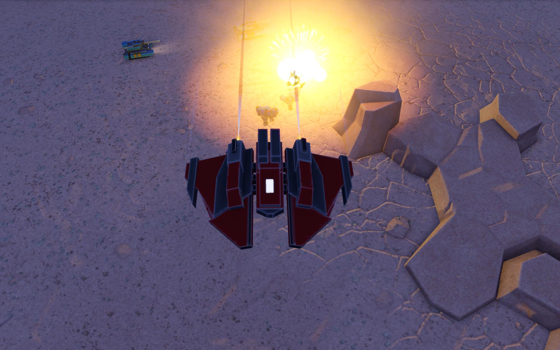 Dauntless bombing run